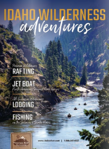 Idaho rafting and jet boat tour adventure brochure
