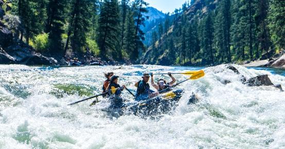river of no return raft trip